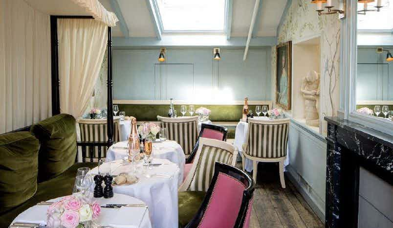 The Traveller's Tea Room, Ladurée at Covent Garden