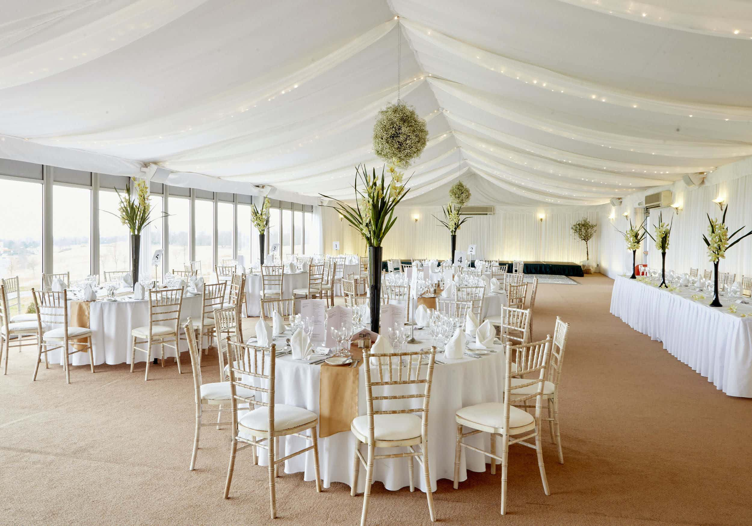 Chairman's Marquee, The Celtic Manor Golf Club