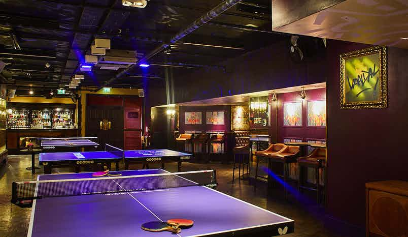 The Private - Jaques Room, Bounce, Farringdon - The Home of Ping Pong