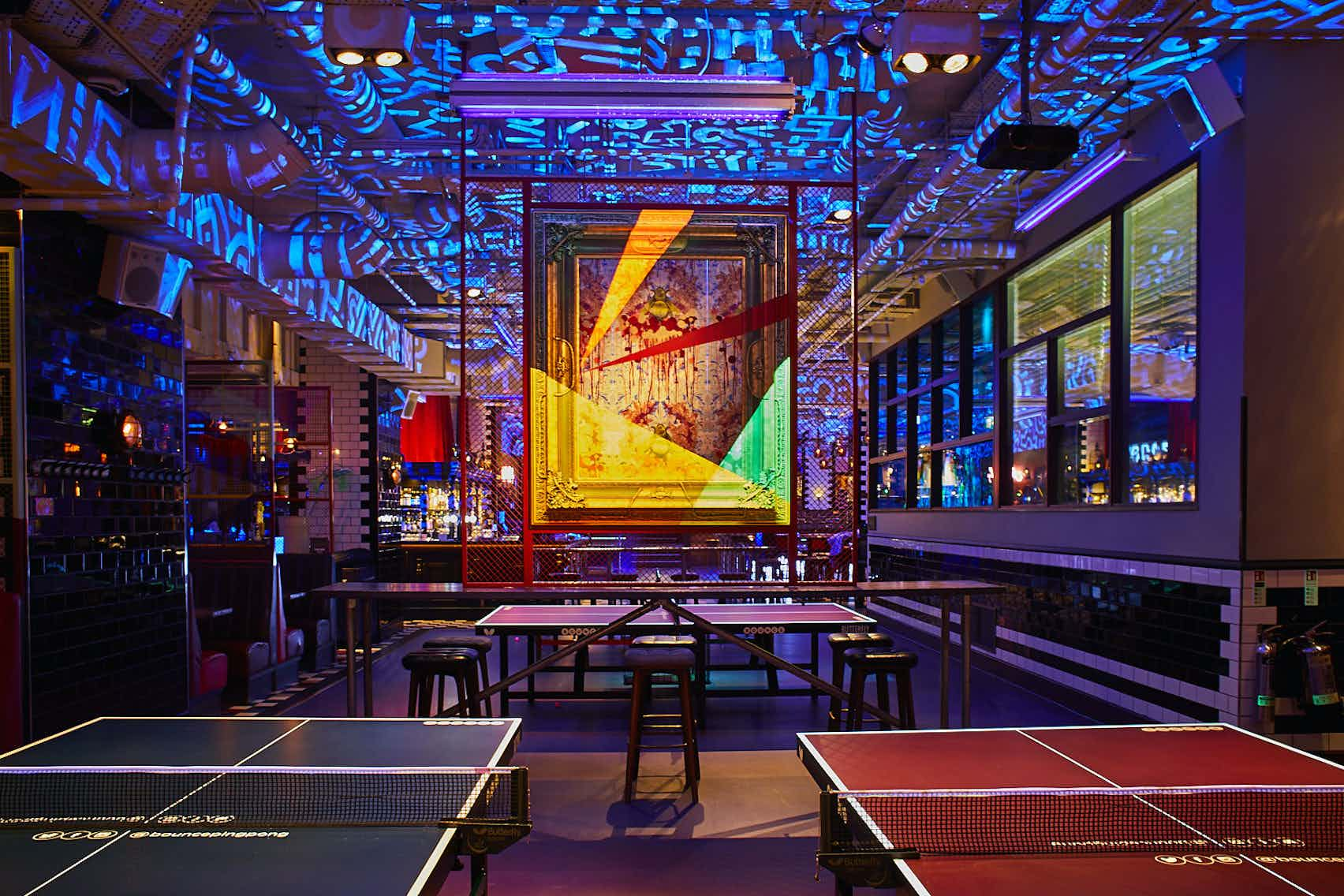 Exclusive Areas - The Gallery, Bounce, Farringdon - The Home of Ping Pong