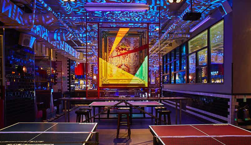 Exclusive Areas - The Gallery, Bounce Farringdon - The Home of Ping Pong