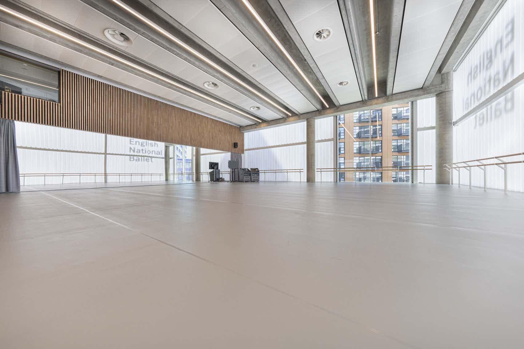 Linden Studio, English National Ballet