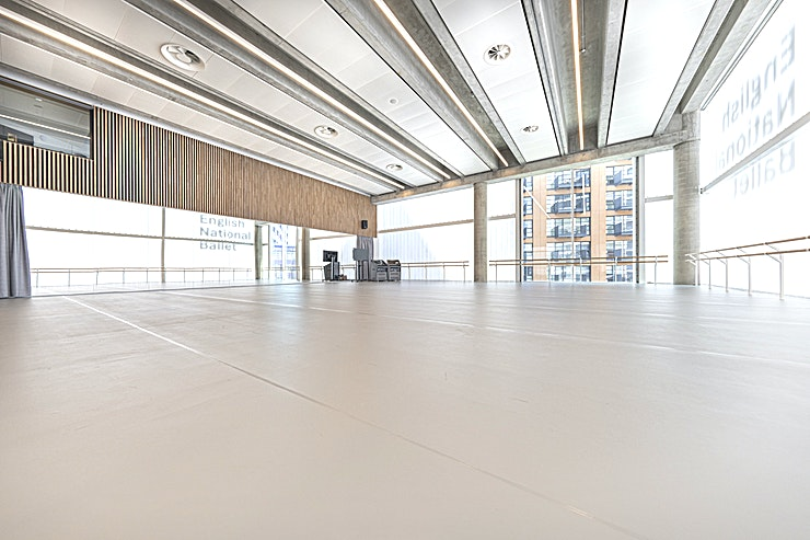 Linden Studio **Book The Linden Studio at English National Ballet for the exclusive use of one of our brand new Studios.**