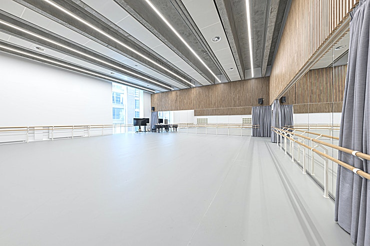 Wall Studio **Book The Wall Studio at English National Ballet for the ideal event Space in Central London.**