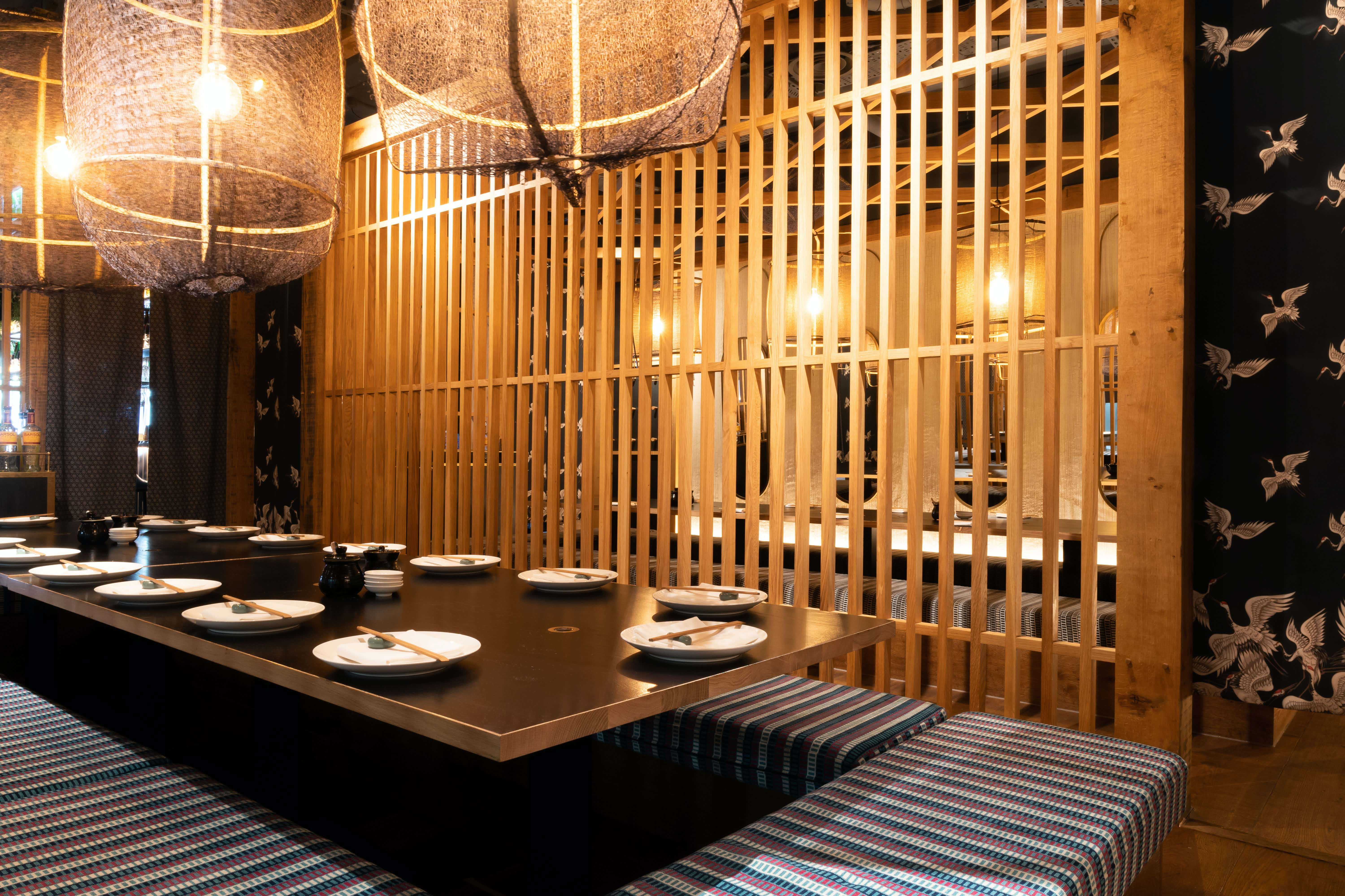 Private Dining Room, Flesh & Buns Oxford Circus