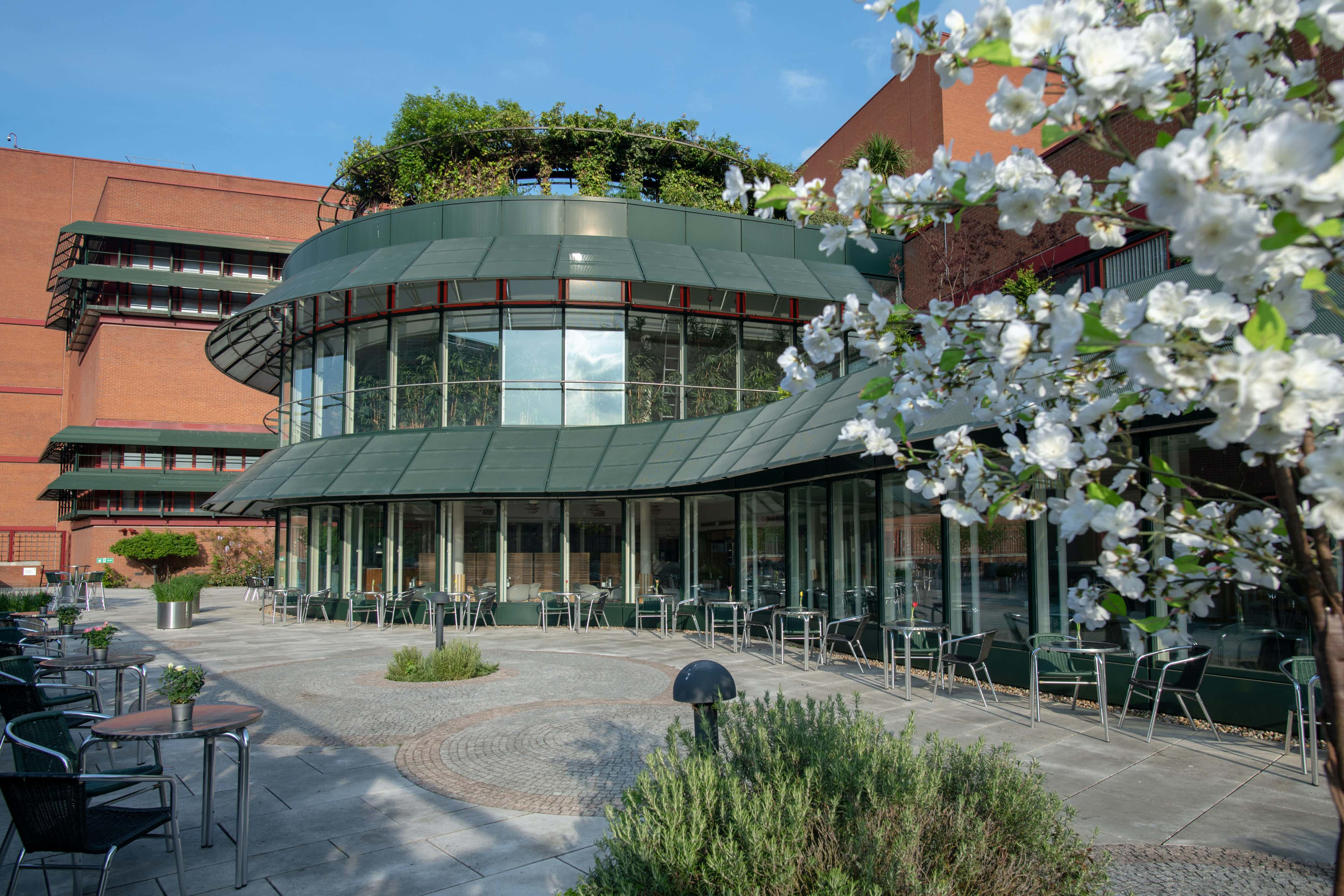 Terrace Restaurant and Outdoor Terrace, British Library