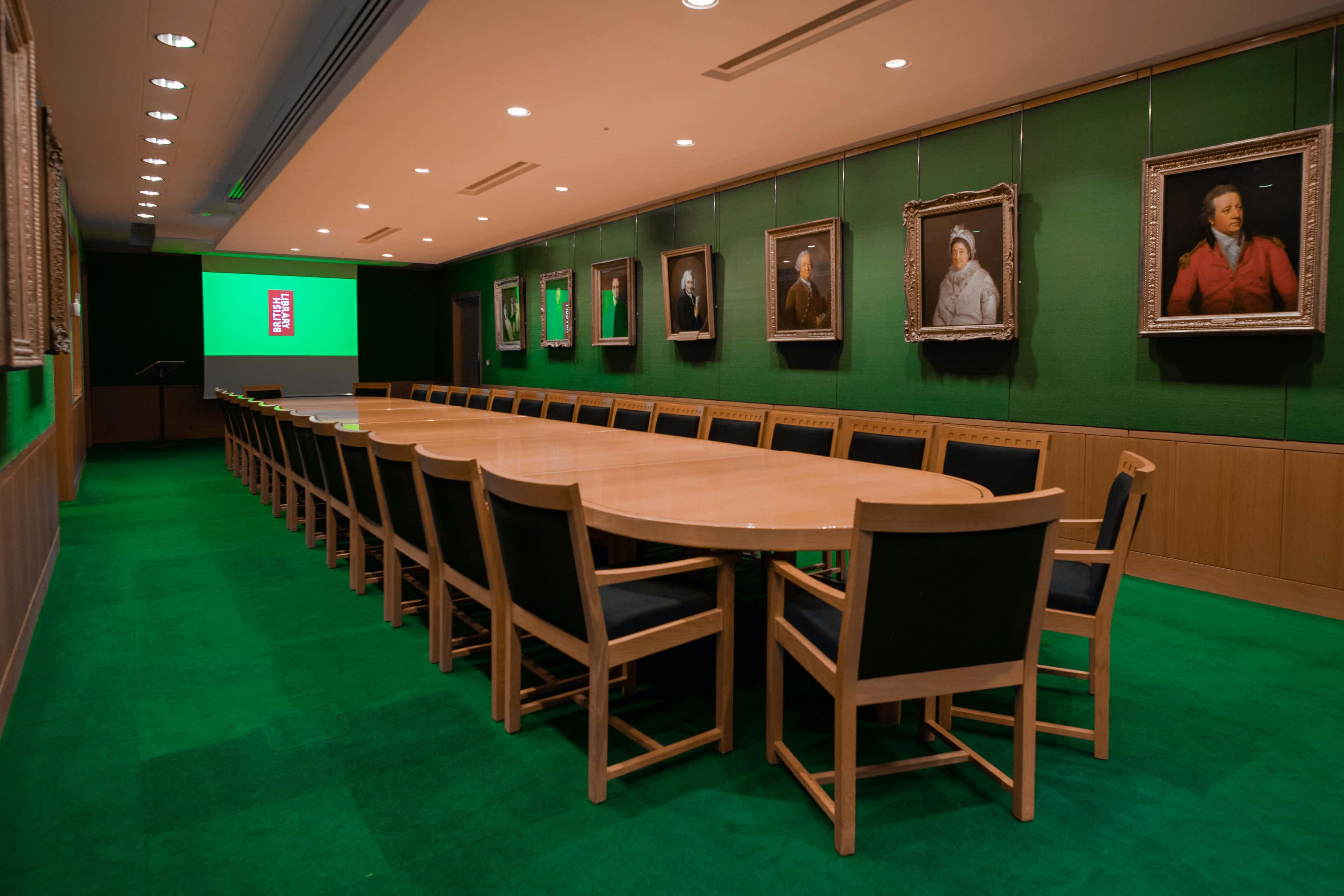 Boardroom Suite, British Library