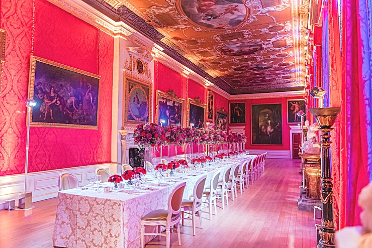 Kensington Palace **This is the iconic Kensington Palace,  perfect for unique London venue with a regal twist.**   Surrounded by parkland, Kensington Palace along with the Royal Parks' gardens and ponds offers a retr