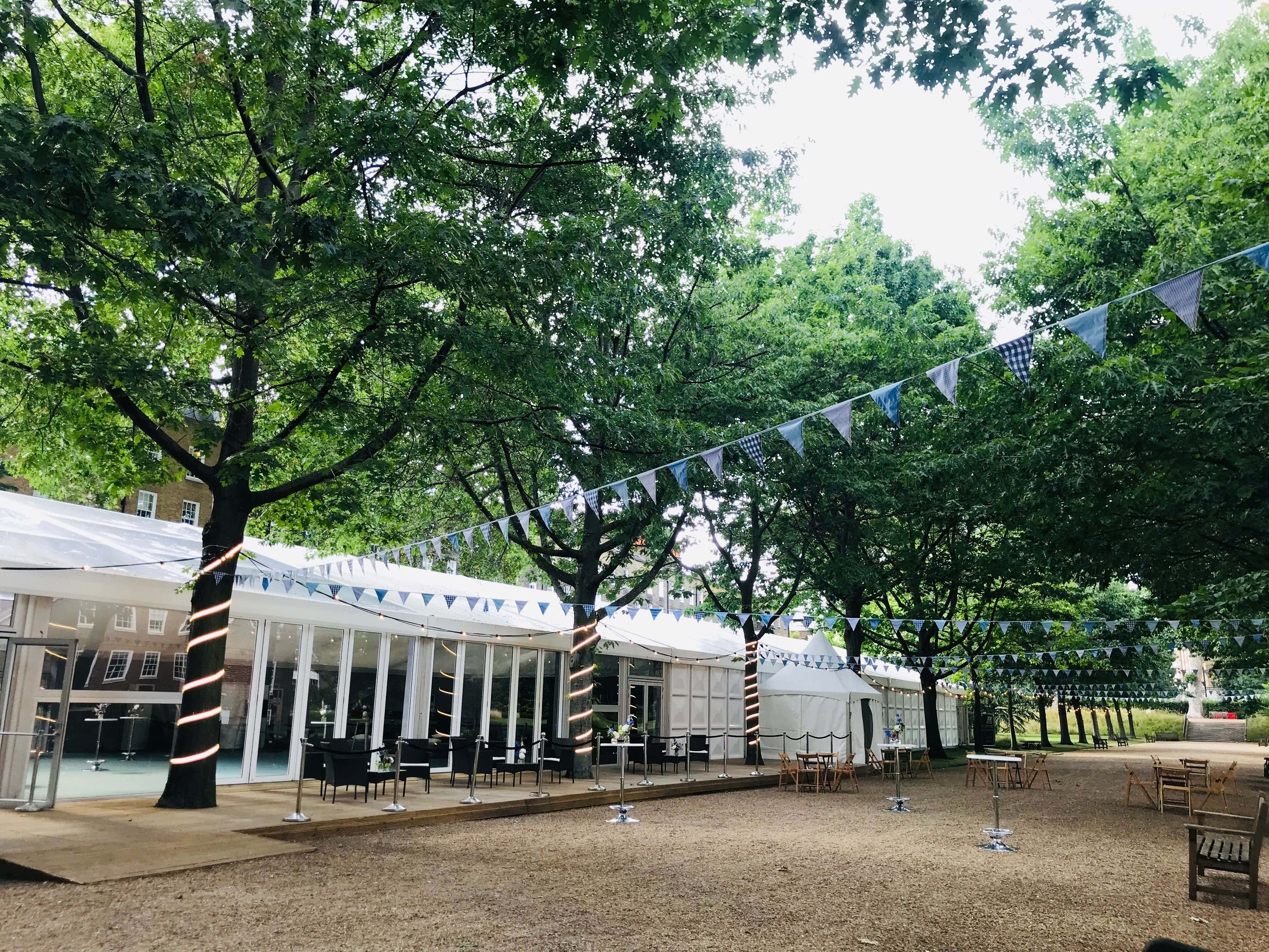 Summer in the Walks and Marquee , The Honourable Society of Gray's Inn