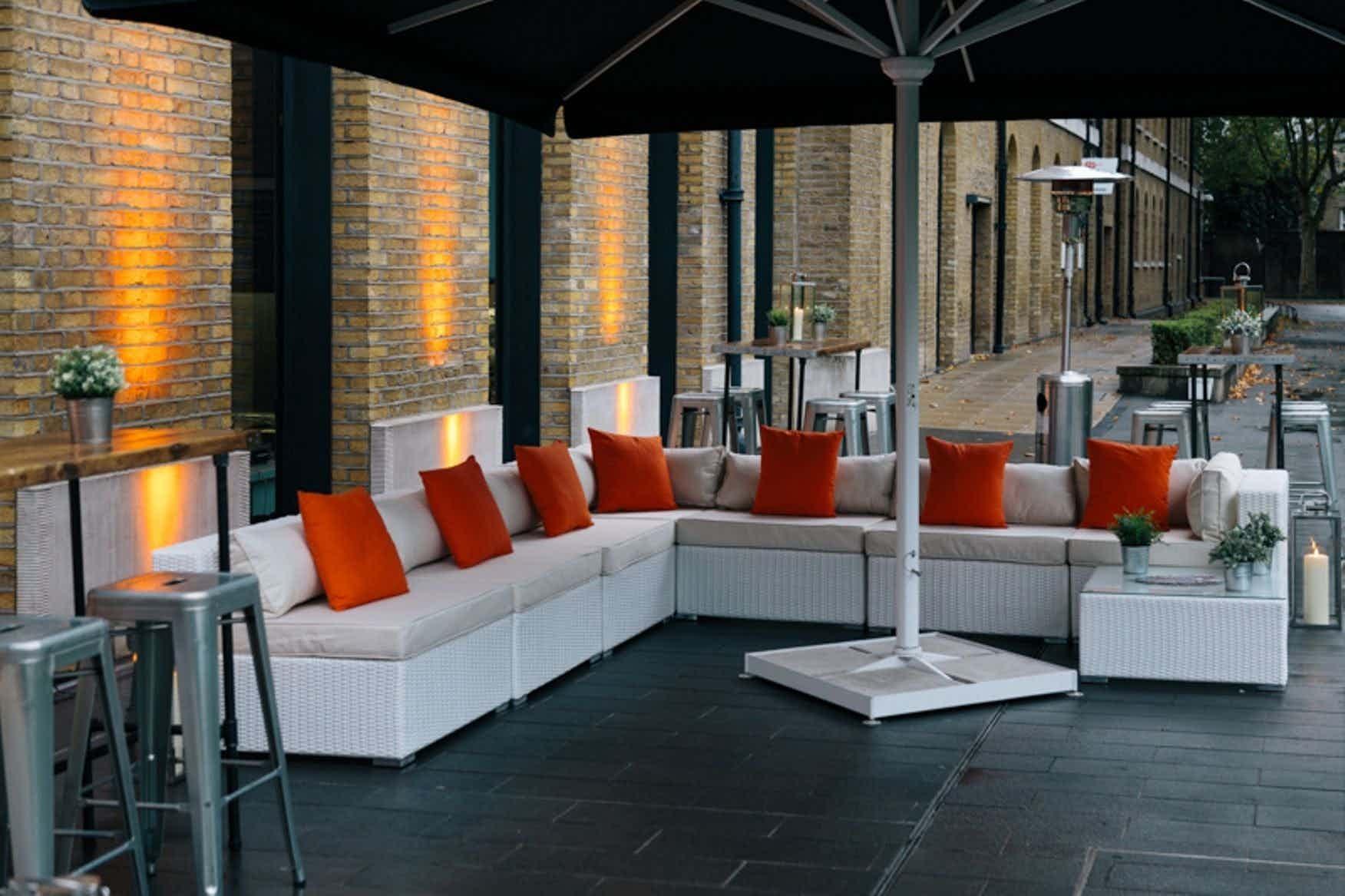 Outside Terrace, IWM London