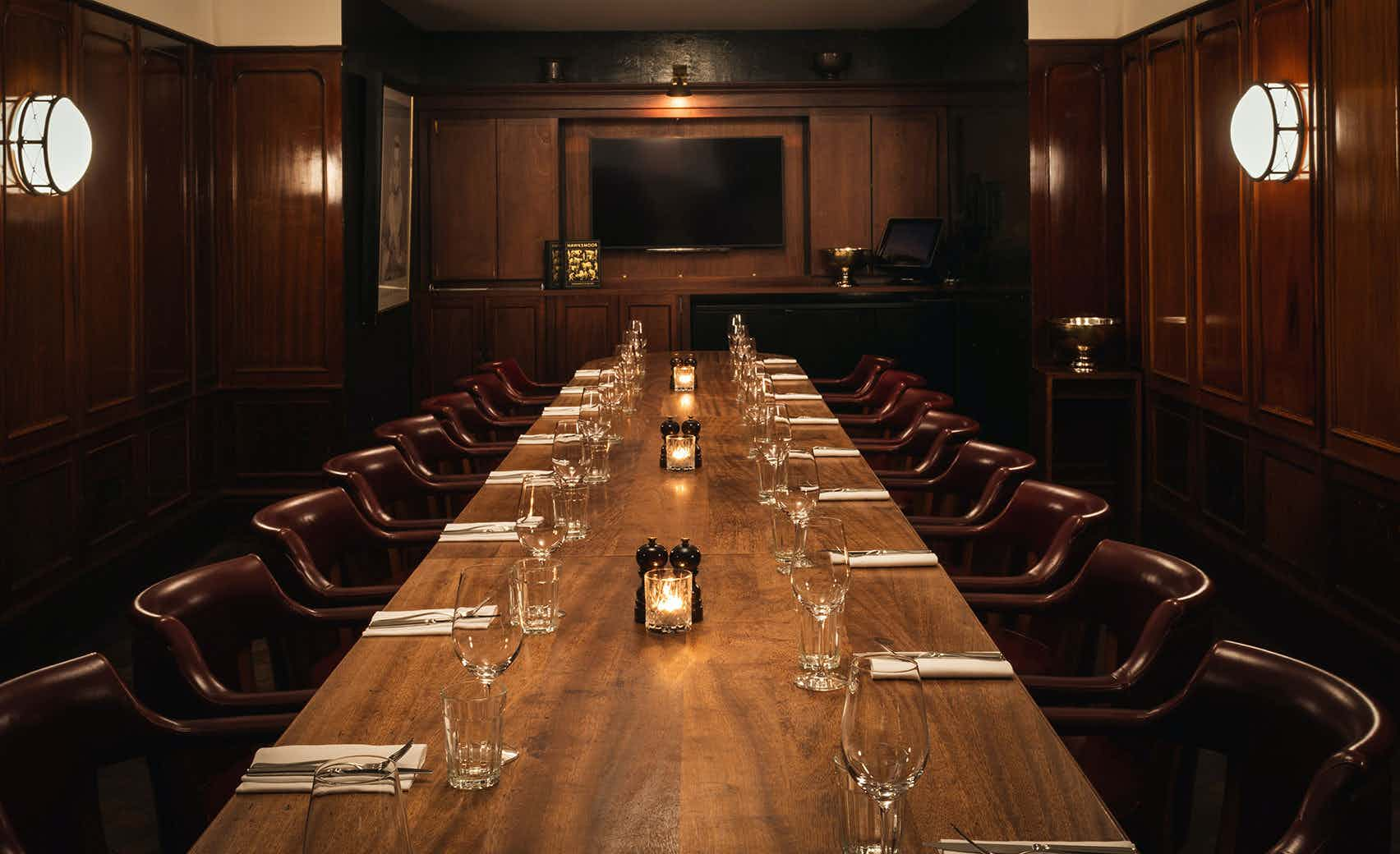 Private Dining Room, Hawksmoor Guildhall