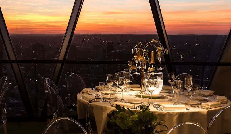 Christmas at The Gherkin, Searcys at the Gherkin