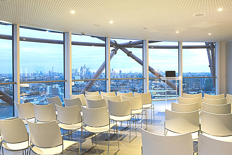 Meeting Rooms **Hire the iconic ArcelorMittal Orbit for your next conference, meeting or product launch - this is definitely one of the best options to impress your delegates and business partners in London.**