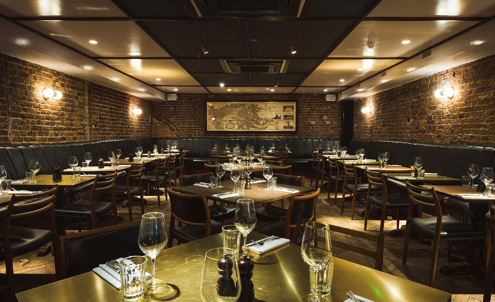 Private Dining Room, Hawksmoor Spitalfields