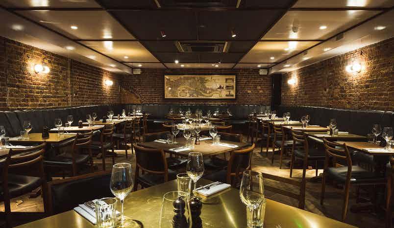 Private Dining Room, Hawksmoor Spitalfields