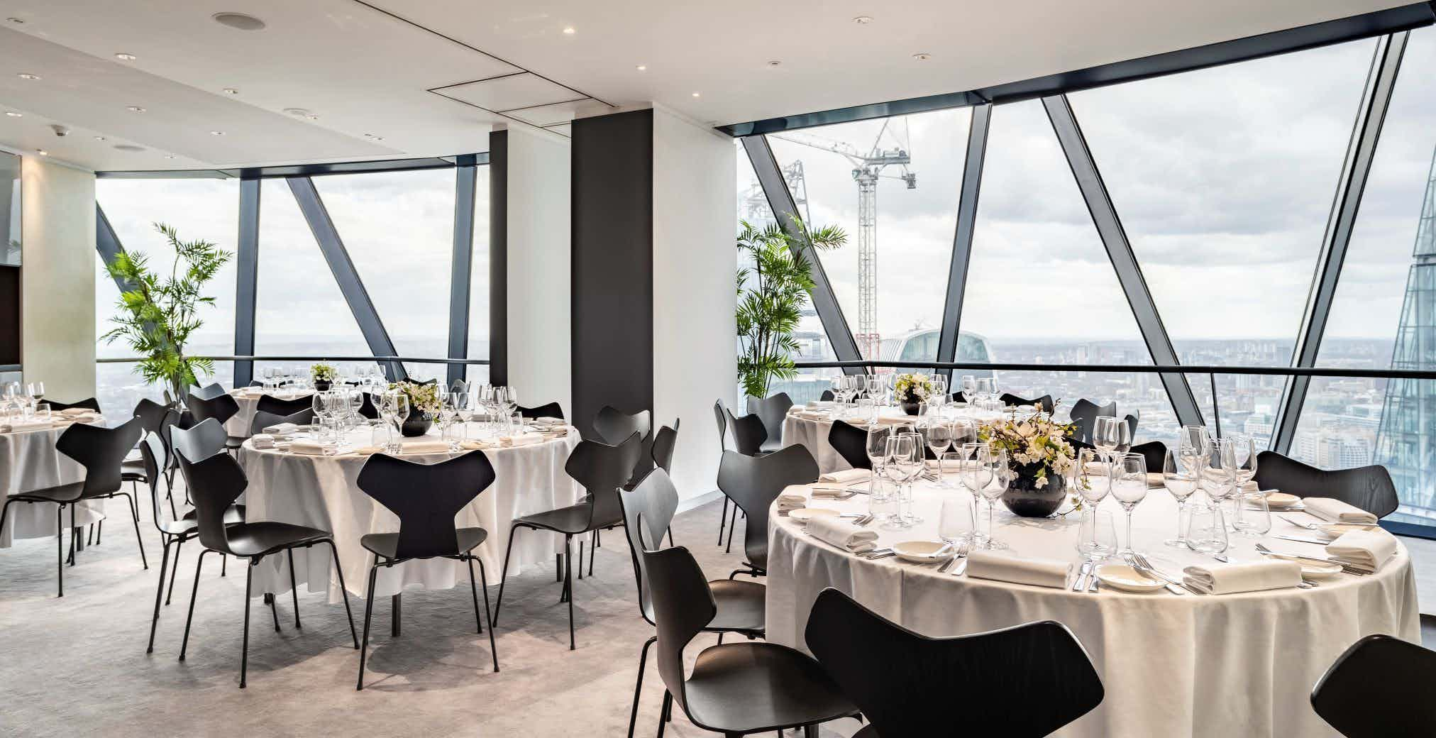 Double Private Dining Rooms, Searcys at The Gherkin