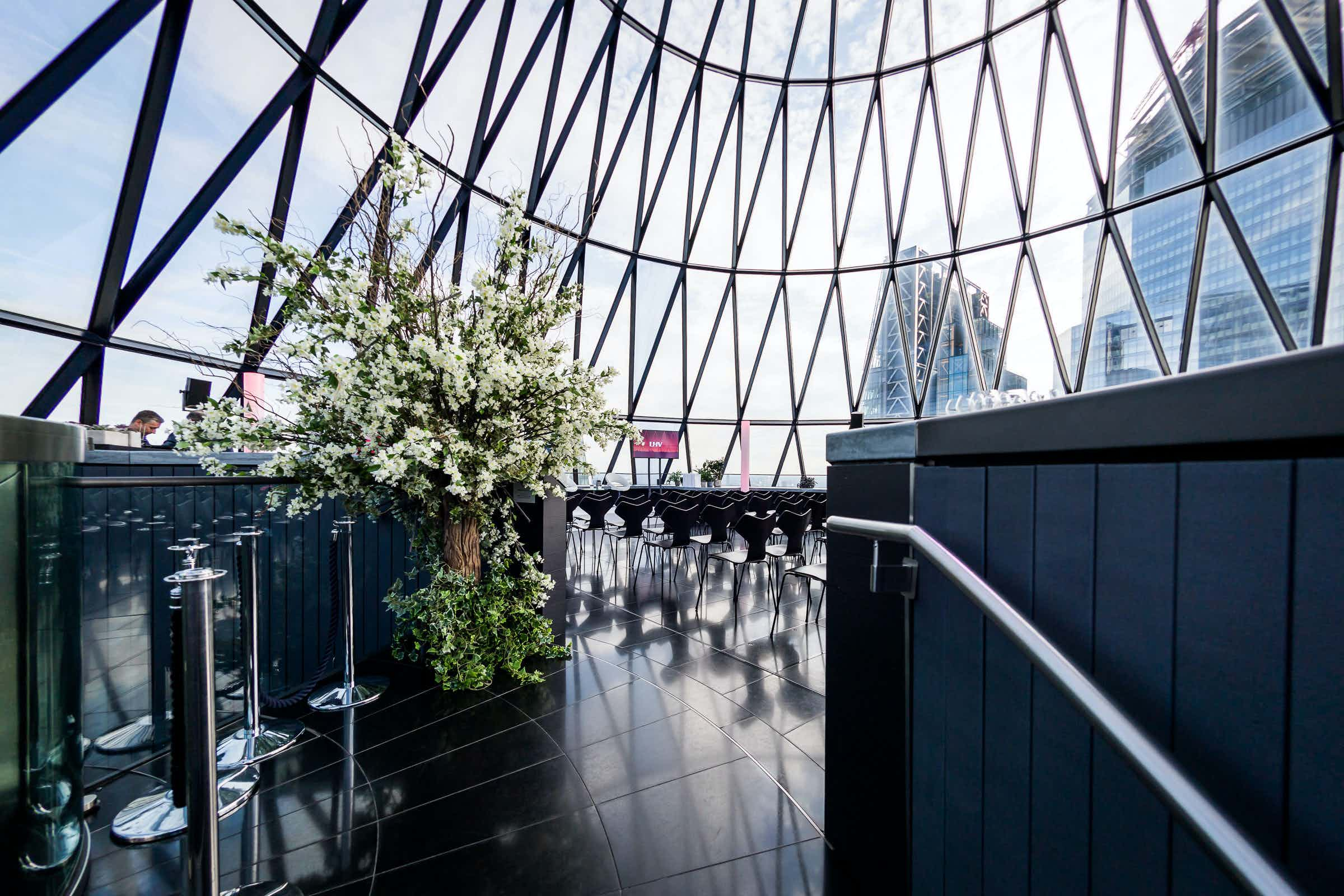 Exclusive Hire of Helix and Iris, Searcys at The Gherkin