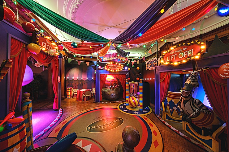 Venue Hire **Make your next corporate or private event a truly one of a kind party at DreamWorks Tours Shrek's Adventure! London.**   As part of your event, all Guests will enjoy entry to London's most brillia