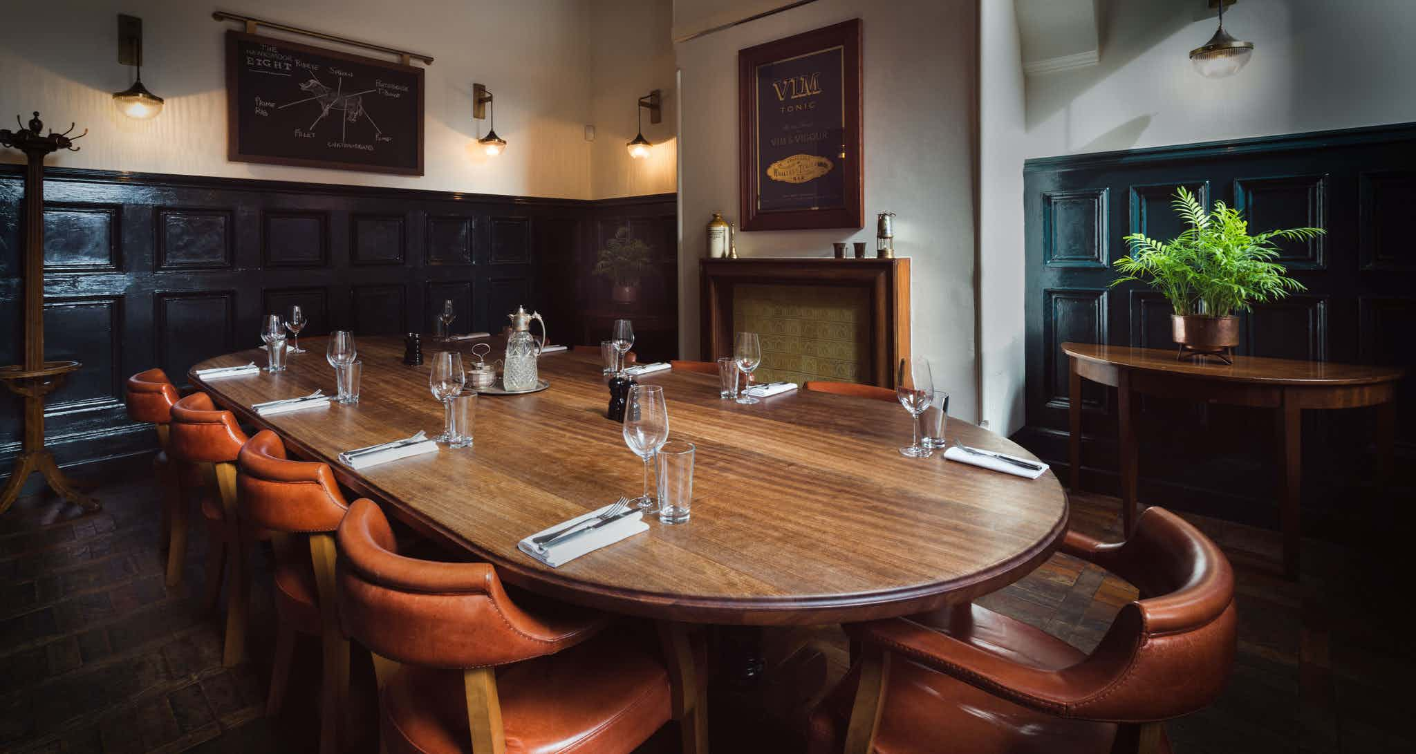 Private Dining Room, Hawksmoor Manchester