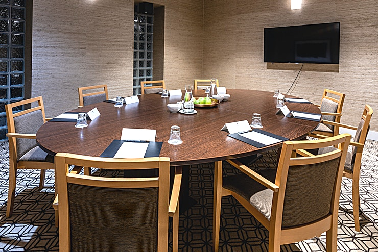 Board Room 1 Thanks to its central location, among others, Sandton Eindhoven Centre is the ideal venue for your course, presentation, or meeting.   The hotel has 7 ultra-modern air-conditioned conference rooms tha