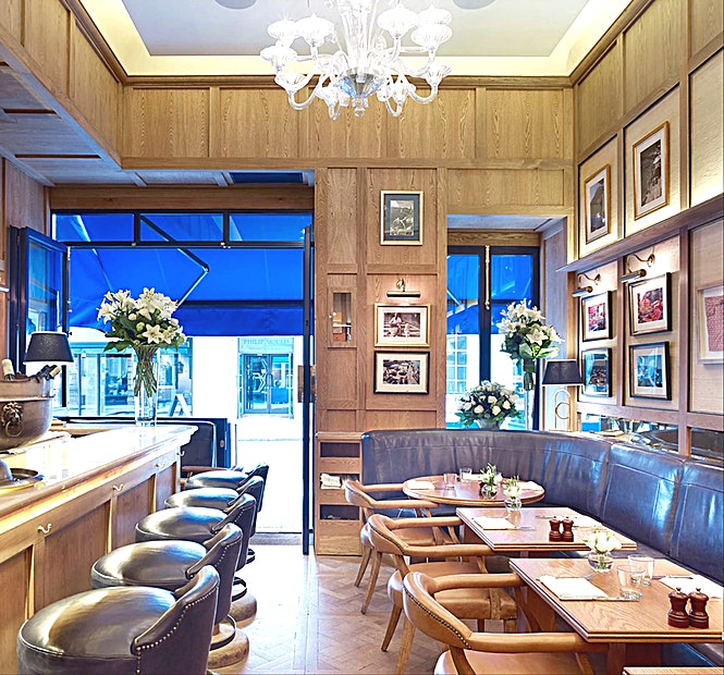 Chucs Mayfair **The original Chucs located on Mayfair's Dover Street, just a stone's throw from the exclusive Berkeley Square.**   This is an intimate Space in which to host a private lunch or dinner, with world-