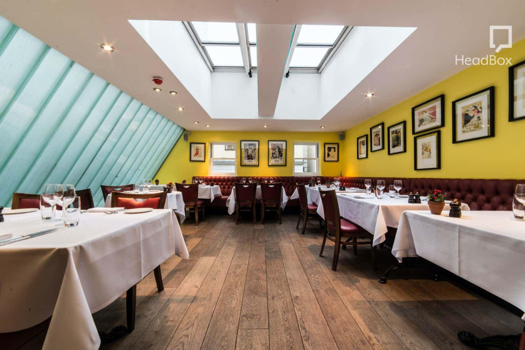 Lunch, Exclusive Restaurant Floor, Brasserie Gustave