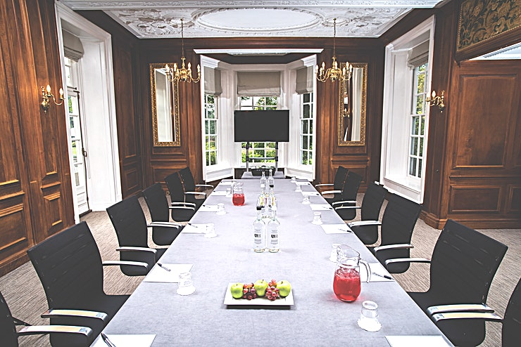 Drawing Room **An attractive walnut panelled room with beautiful period features. It is a particularly special setting for senior-level strategy meetings, exclusive corporate entertaining and AGMs.**  Whether yo