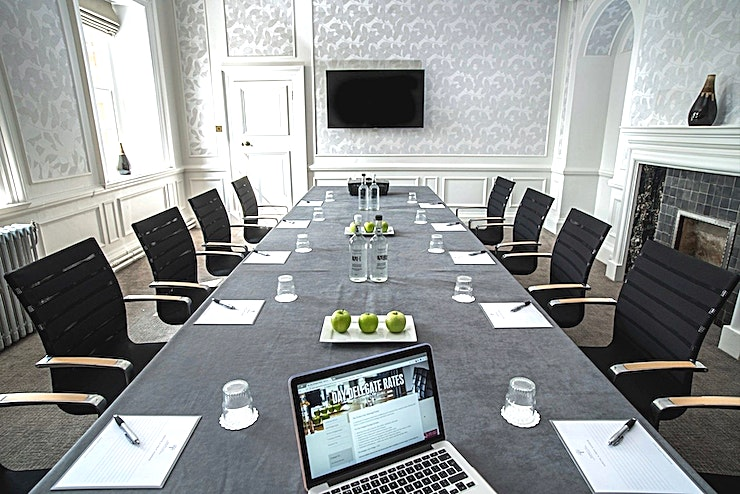 Exclusive Use **Barnett Hill Hotel is a luxurious event venue for hire in Surrey.**  With 54 luxury bedrooms, a selection of cosy lounges, nine diverse meeting and conference Spaces and an award-winning restauran