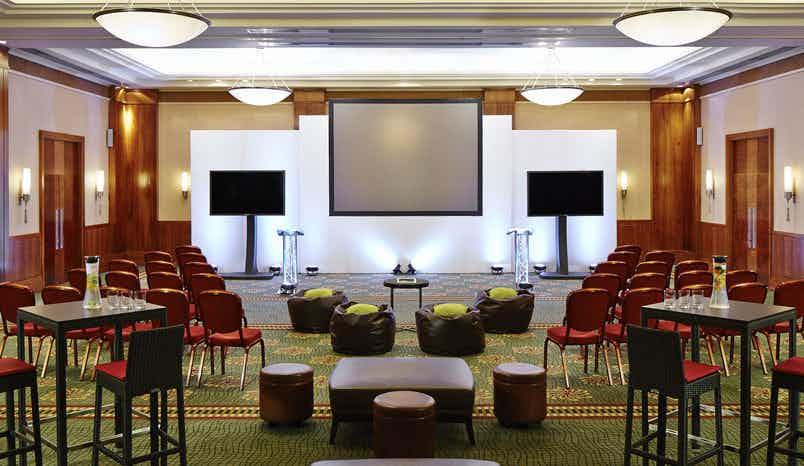 West India Ballroom, London Marriott Hotel Canary Wharf