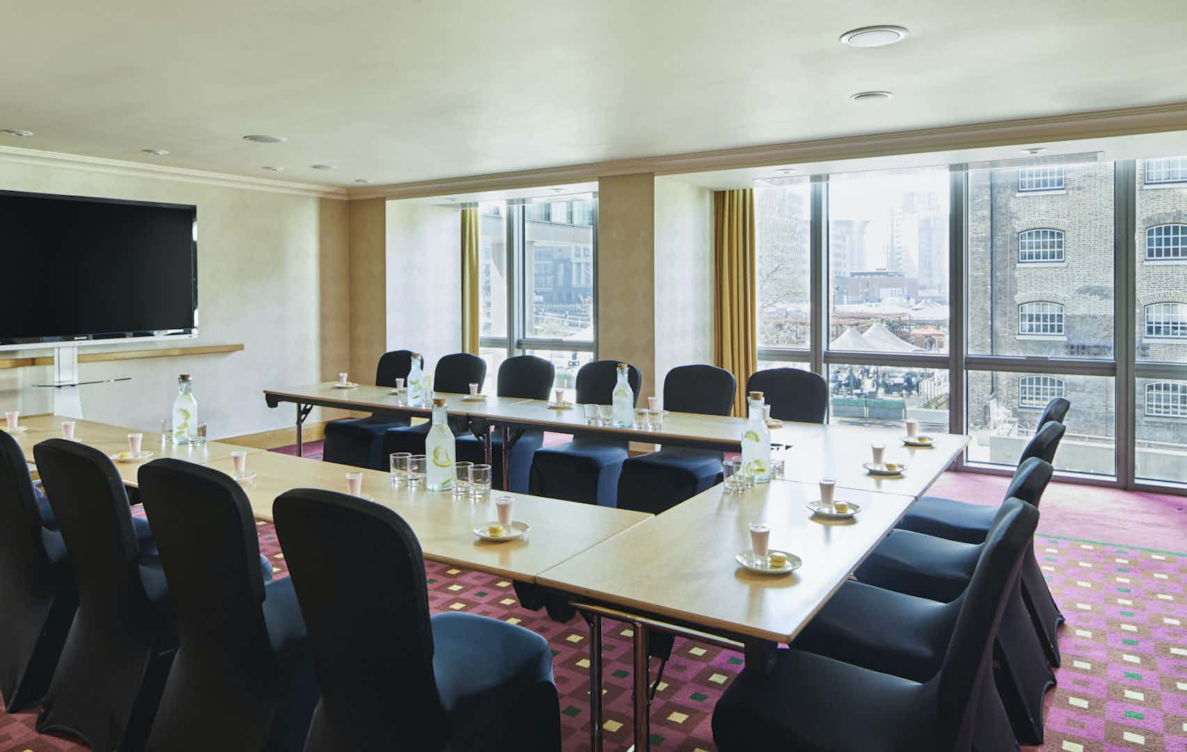 Rosewood Room, London Marriott Hotel Canary Wharf
