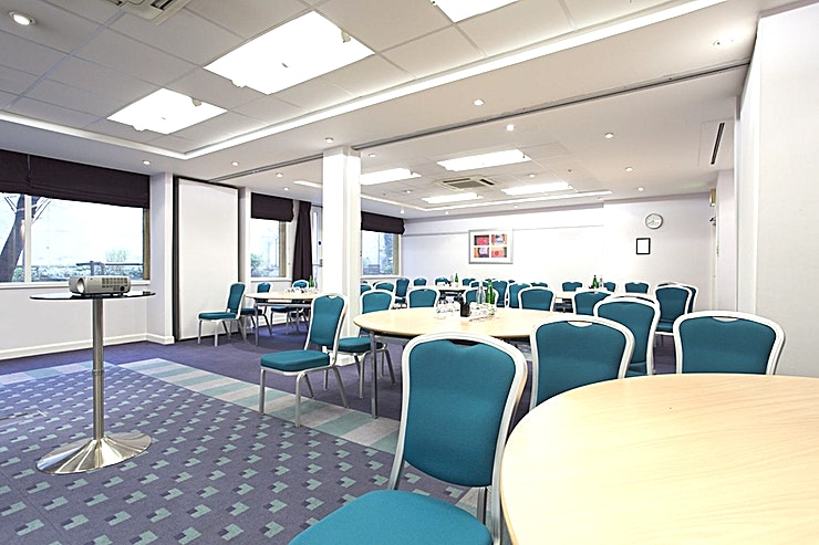 National Suite **Hire the National Suite at Mercure Liverpool Atlantic Tower Hotel for a state-of-the-art conference room in Liverpool.**