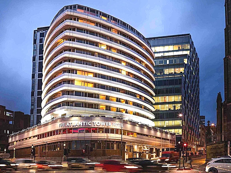 Sundew Suite **Hire the Sundew Suite at Mercure Liverpool Atlantic Tower Hotel for a modern meeting room in Liverpool.**
