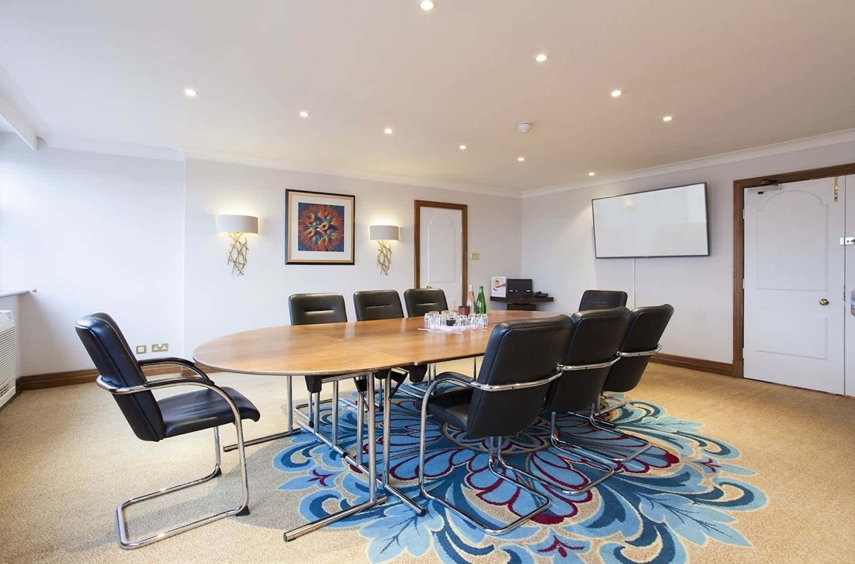 French Boardroom , Mercure Liverpool Atlantic Tower Hotel