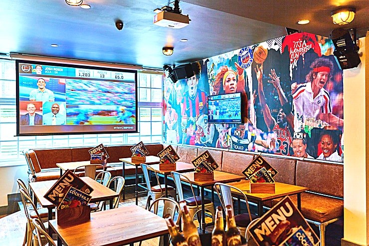 Private Space **This great Bar and Diner is situated on the doorstep of the attractions in historic Bath.**   With a fantastic breakfast menu, amazing coffees, diverse menu and bar stocked with local ales, fine wines and spirits plus well known international brands, they provide the perfect place for mid-sightseeing refreshments, lunch and a good place all round!