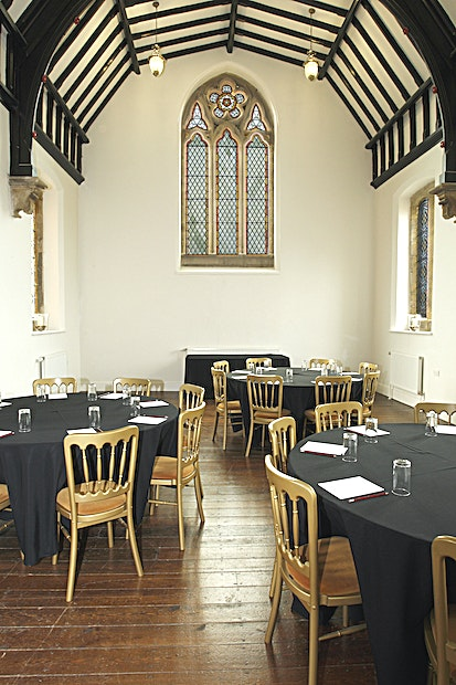 The Private Chapel **A stunning space in an impressive building, perfect for private dining or meetings.**  