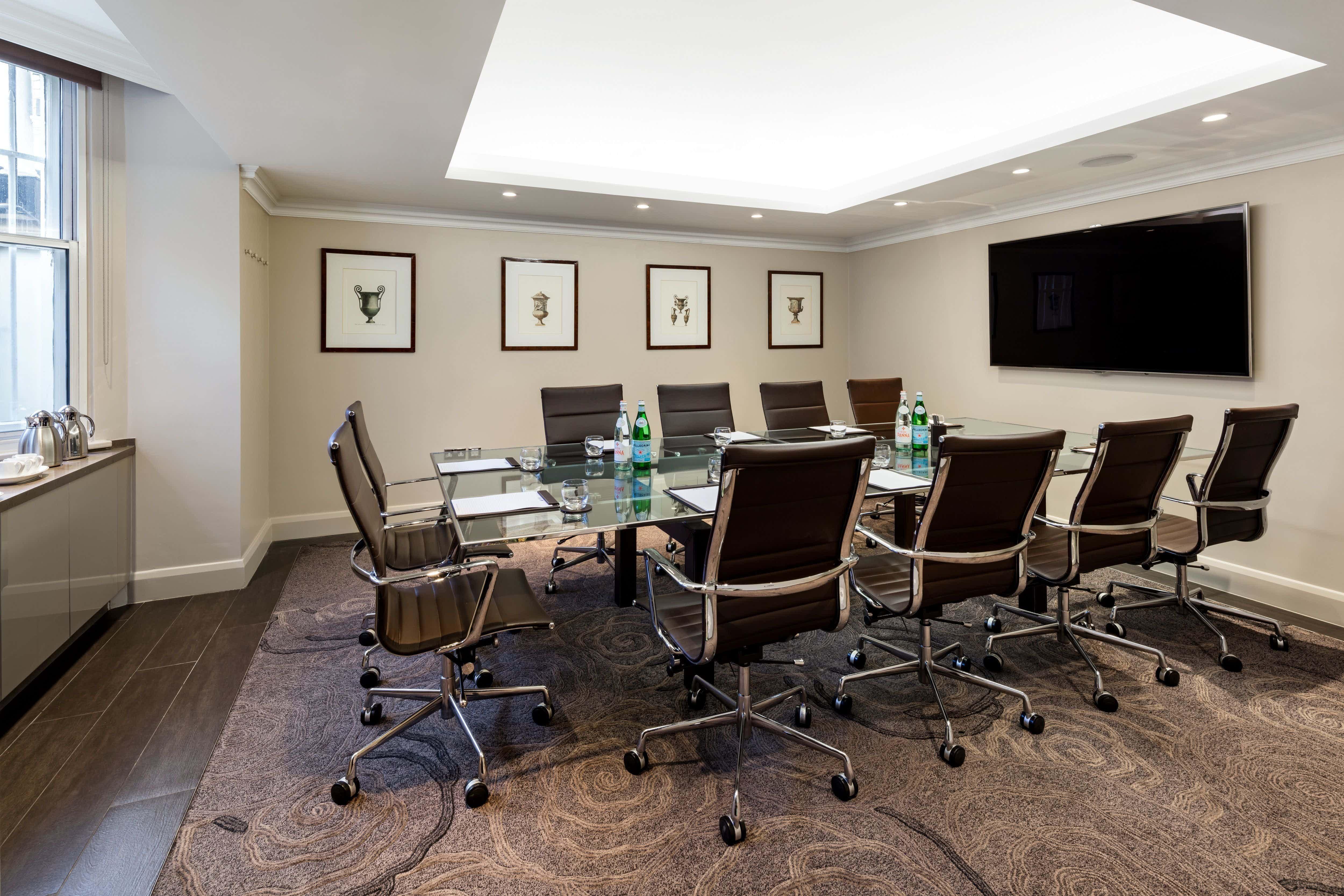 Private Room 2, Radisson Blu Edwardian, Vanderbilt