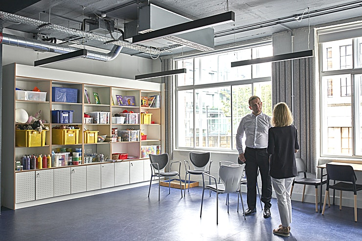 Training Room C **Training Room C at Place2Be is a versatile training room for hire in Clerkenwell.**