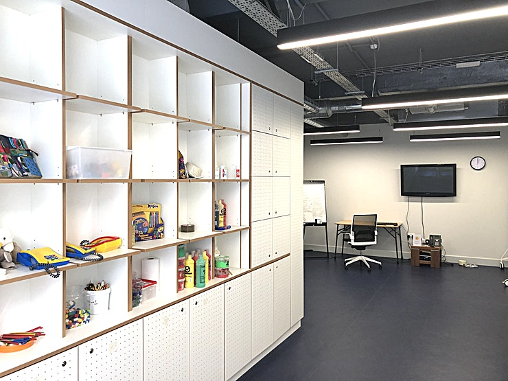 Training Room D **Training Room D at Place2Be is a state-of-the-art, multi-functional training room for hire in Clerkenwell.**