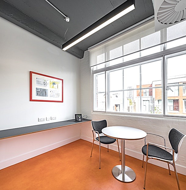 Meeting Rooms 102-105 **Welcome to 175, the Core of Place2Be, offering state-of-the-art meeting rooms.**  Place2Be is a leading children's mental health charity and training provider. The venue has four large training rooms and several smaller meeting rooms available for hire 5 days a week.  As this is a working charity office priority goes to Place2be activities: please be mindful of this when making any urgent enquiries.