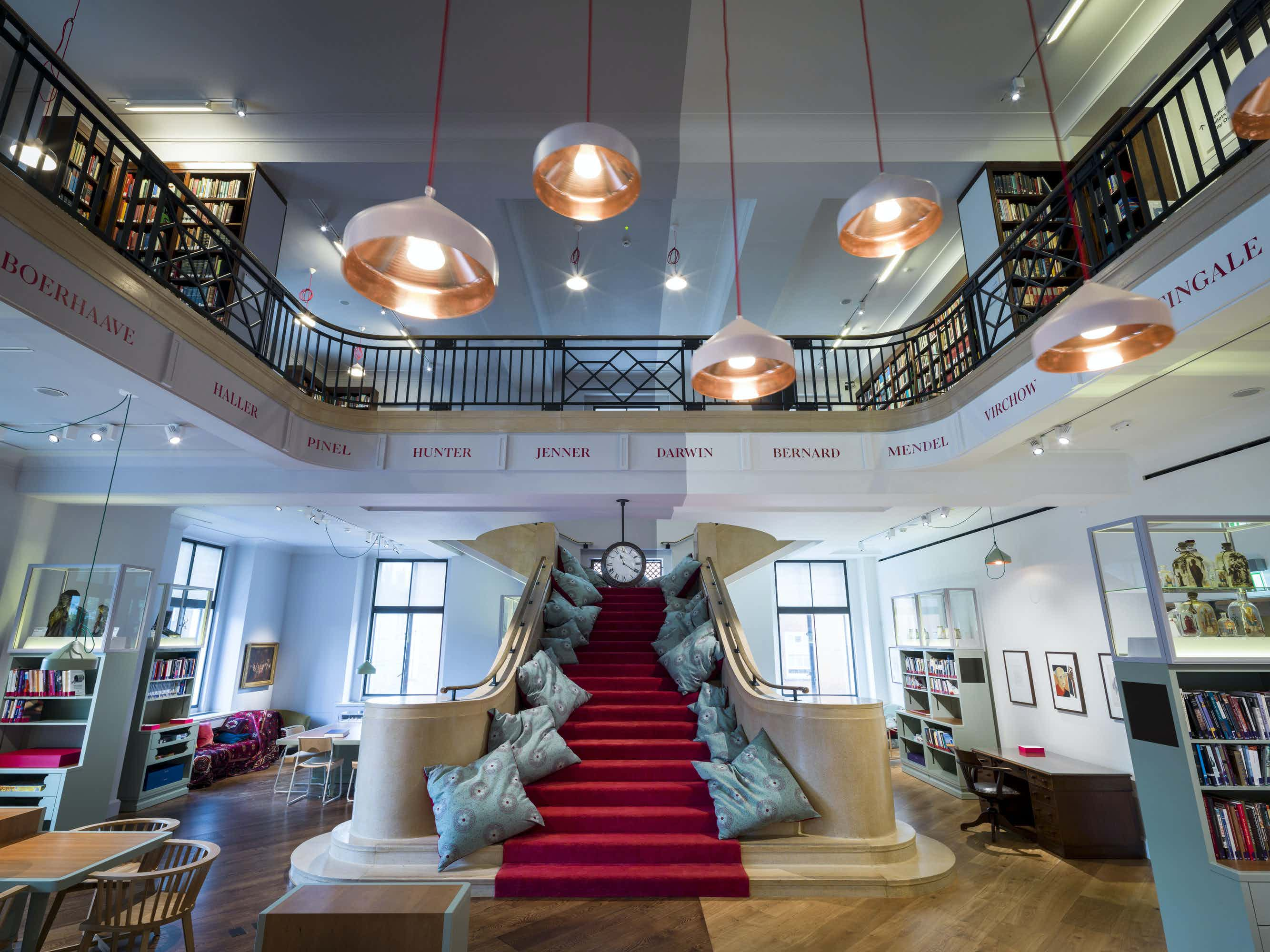Reading Room, Event Spaces at Wellcome Collection