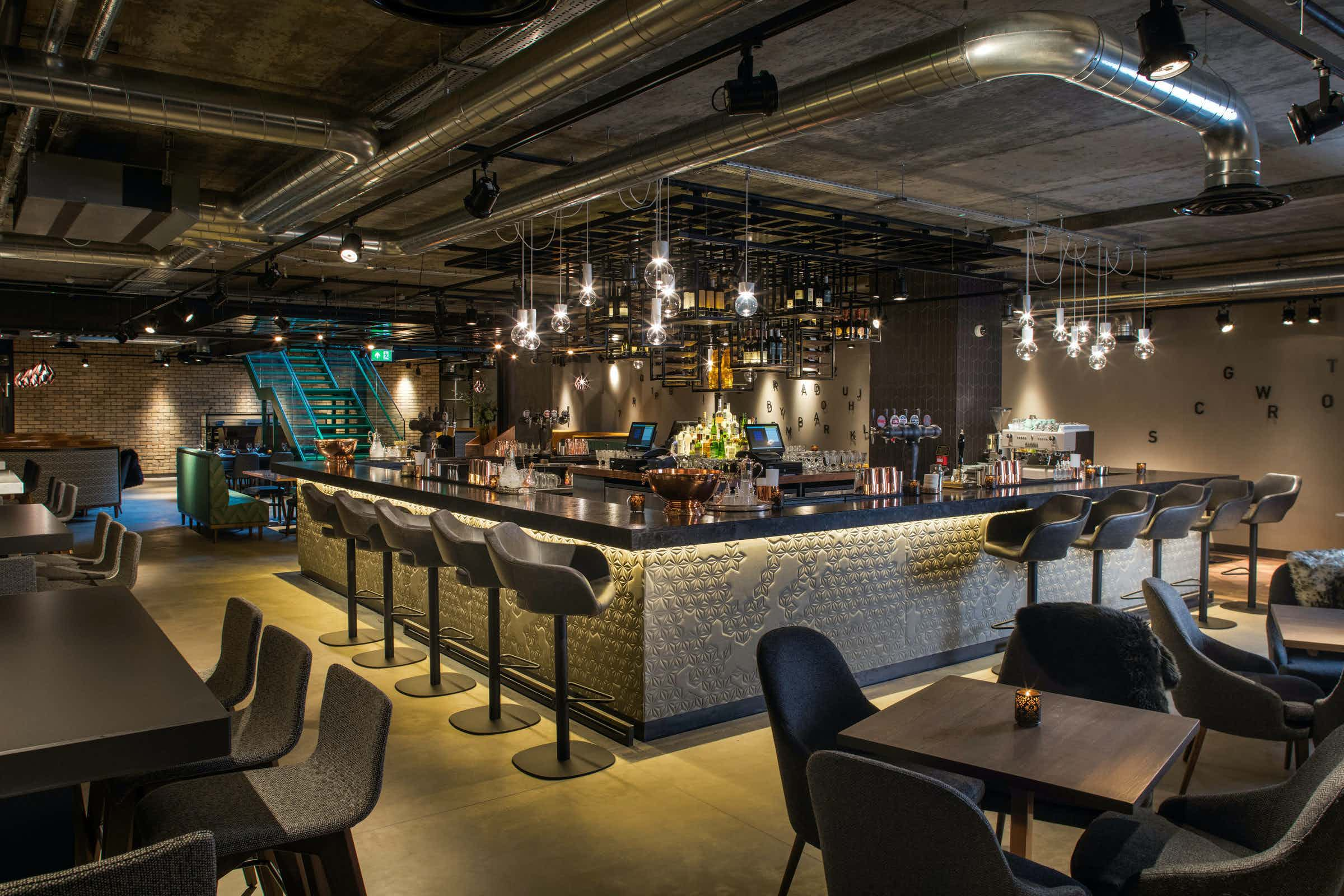 Basement Bar, Evening Hire, Drake & Morgan at Kings Cross