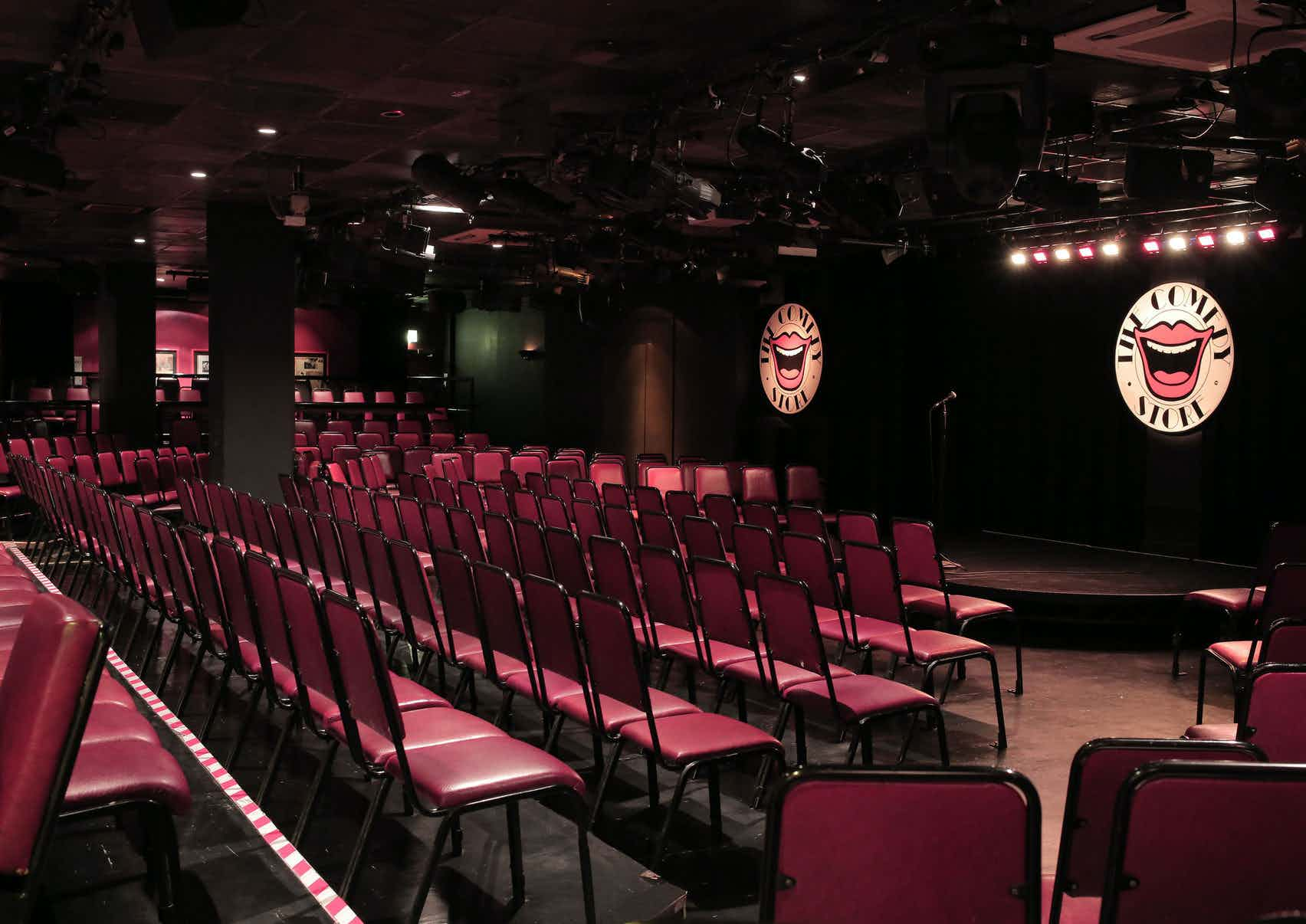 Main Stage, The Comedy Store London