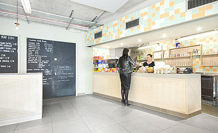 Screening Room Two  **Hire Screening Room Two at the Workspace ScreenWorks centre for one of the best meeting rooms North London has to offer.** 