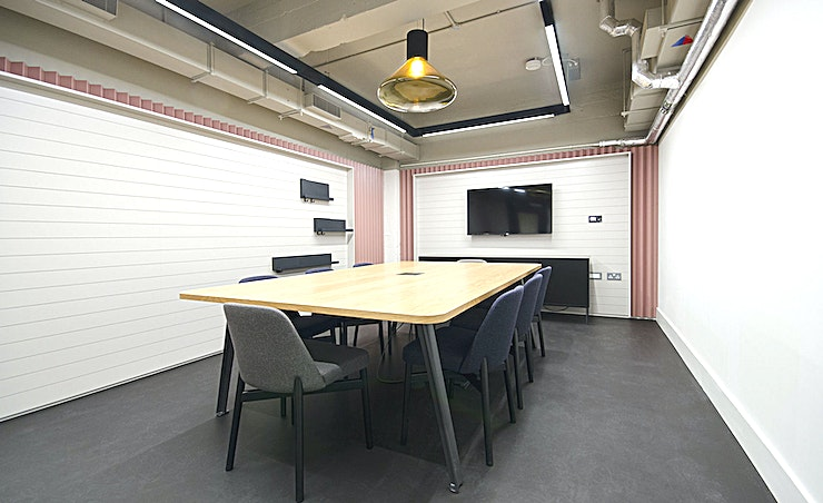 Form **Hire one of the best meeting rooms London has to offer with the Form room by Workspace at The Record Hall.**