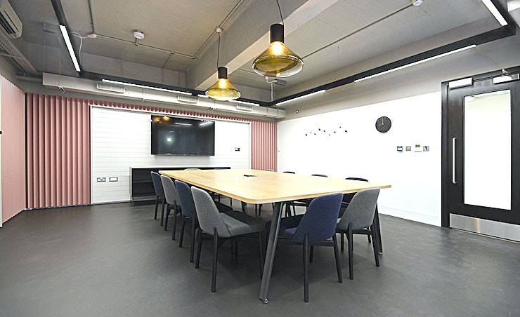 Data **Hire one of the best meeting rooms London has to offer with the Data room by Workspace at The Record Hall.**