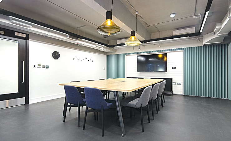 Doc **Hire one of the best meeting rooms London has to offer with the Doc room by Workspace at The Record Hall.**