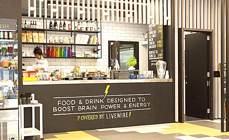 """Revolver **Hire the Barrel room at the Workspace branch at Vox Studios for one of the best meeting rooms London has to offer.**   Introducing Revolver, a brand new, 12-person board room, that is stylishly appointed and purpose made to make your meetings a success.  Located within the newly built Vox West building, this room features a 55"""""""" LED screen with wireless click to connect technology, high-speed Wi-Fi, a writable presentation board, and a great onsite café."""