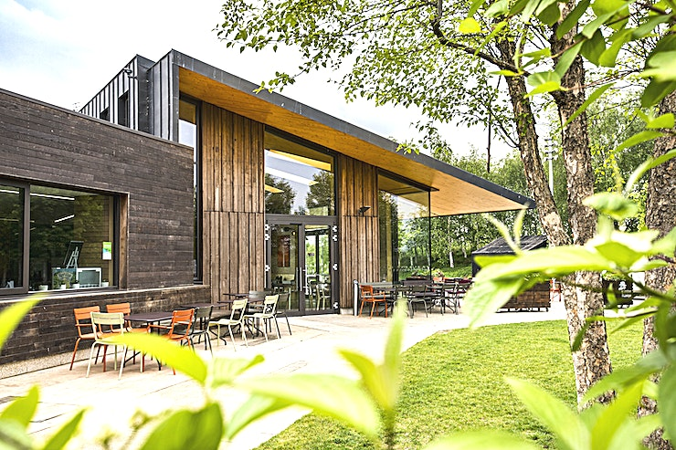 Events Space **Located in Queen Elizabeth Olympic Park, Timber Lodge is a fantastic cafe community centre and with a separate events space ideal for conferences, meetings, parties and even wedding receptions.**
