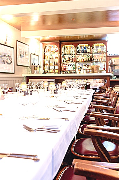 Private Dining Room **The award-winning City branch established in 2008 by Marco Pierre White and James Ogilvie Robertson, has been a permanent fixture on the London restaurant scene ever since.**