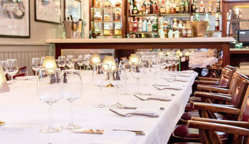 Private Dining Room, London Steakhouse Company City